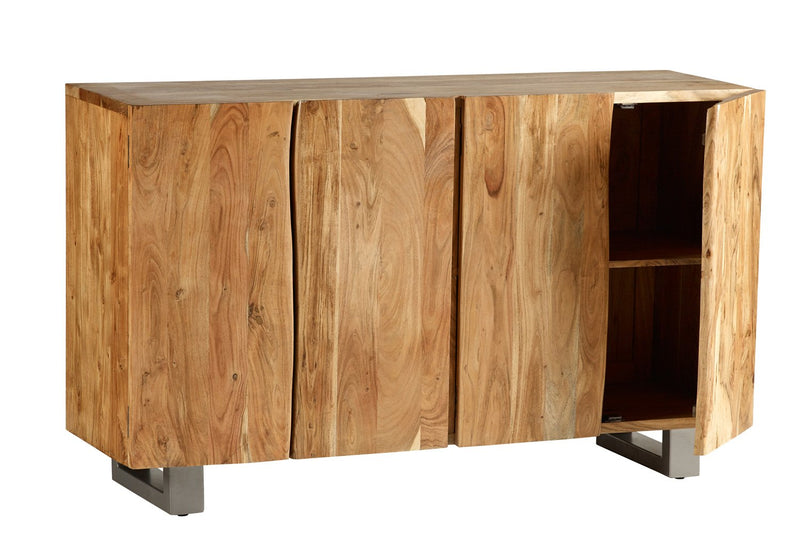 Delhi Live Edge Wood Large Sideboard - The Decor Brand