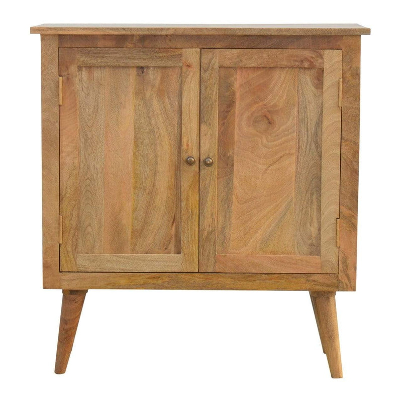 Solid Wood Nordic Style Cabinet - The Decor Brand