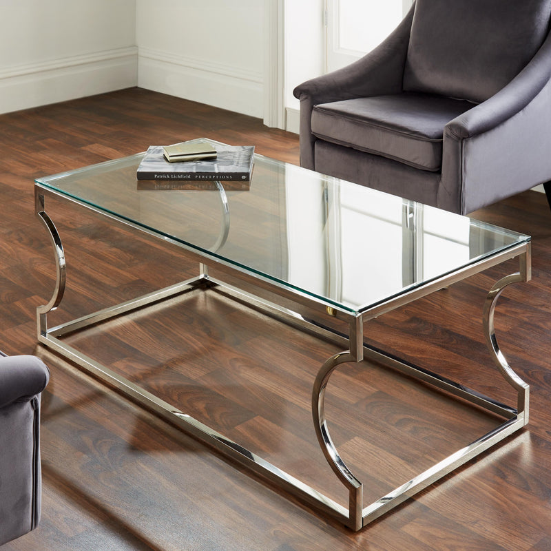 Rome Silver Coffee Table