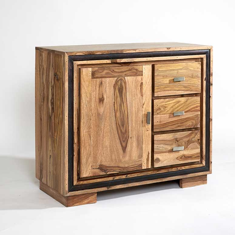 Chennai Sheesham Wood Medium Sideboard - The Decor Brand