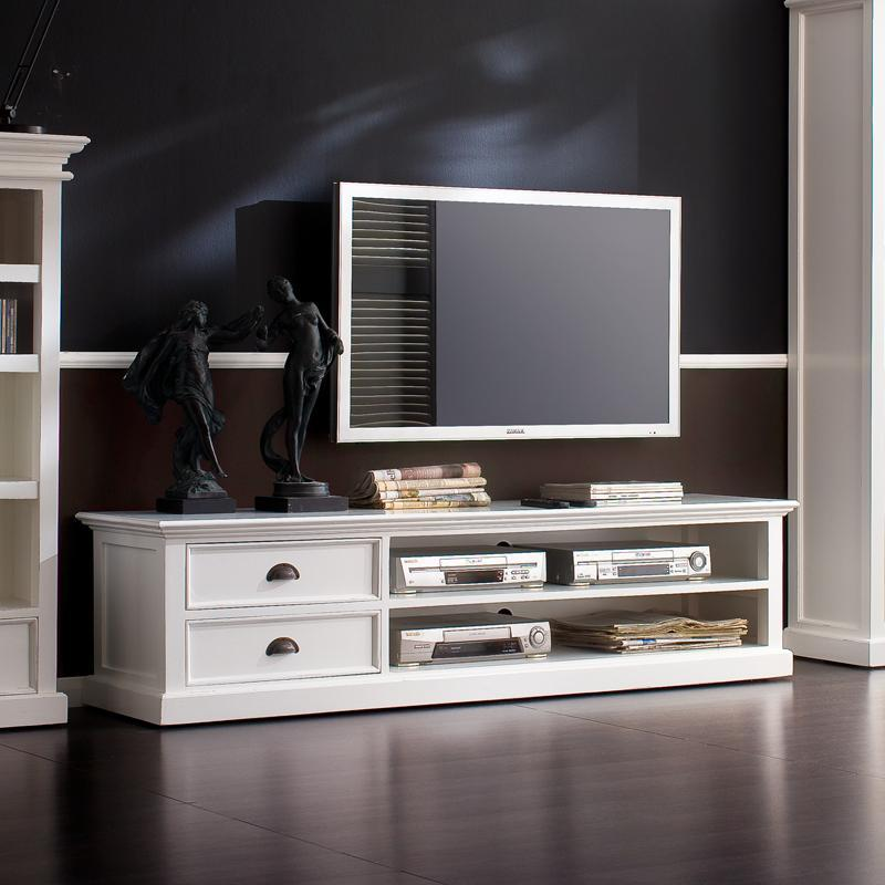 Halifax Large TV Unit with 2 drawers