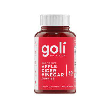 "GOLI APPLE CIDER VINEGAR GUMMIES WITH ""THE MOTHER """