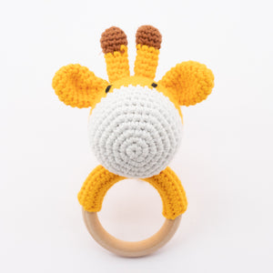 Rattle and Teether - Giraffe
