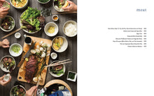 Load image into Gallery viewer, Japanese Home Cooking cookbook meat chapter index