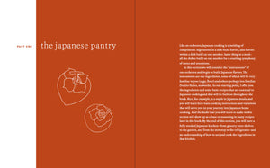 Japanese Home Cooking cookbook pantry introduction pages