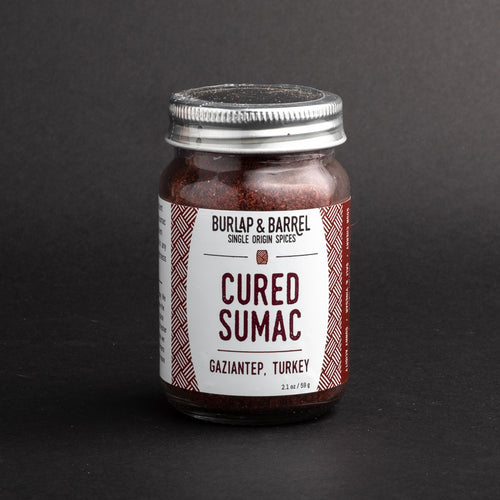 Jar of Cured Sumac from Burlap & Barrel