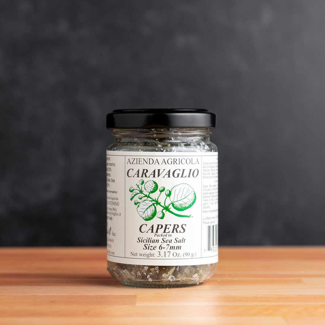 SICILIAN SALT PACKED CAPERS