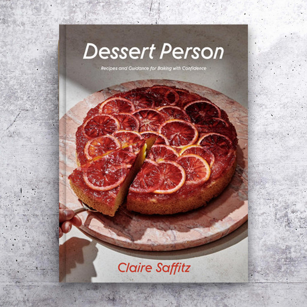 Dessert Person cookbook