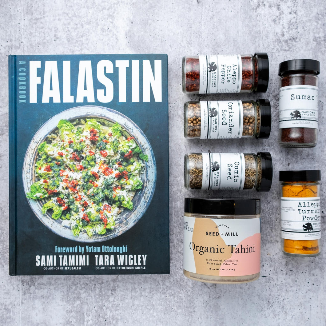 FALASTIN COOKBOOK + PANTRY ESSENTIALS
