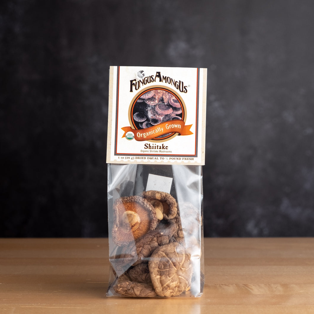 DRIED SHIITAKE MUSHROOMS, ORGANIC