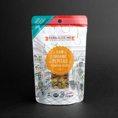 Karmalize.me Pepitas Raw Organic Pumpkin Seeds