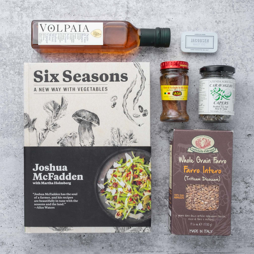 SIX SEASONS COOKBOOK + PANTRY ESSENTIALS