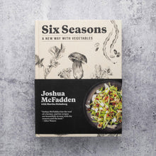 Load image into Gallery viewer, Six Seasons cookbook cover
