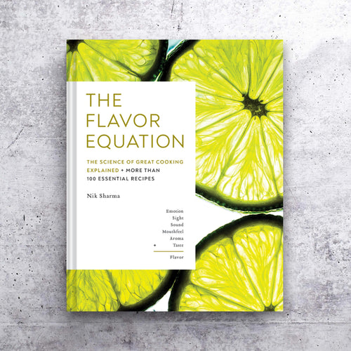The Flavor Equation cookbook
