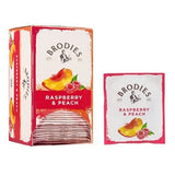 Té Brodies® - Raspberry & Peach