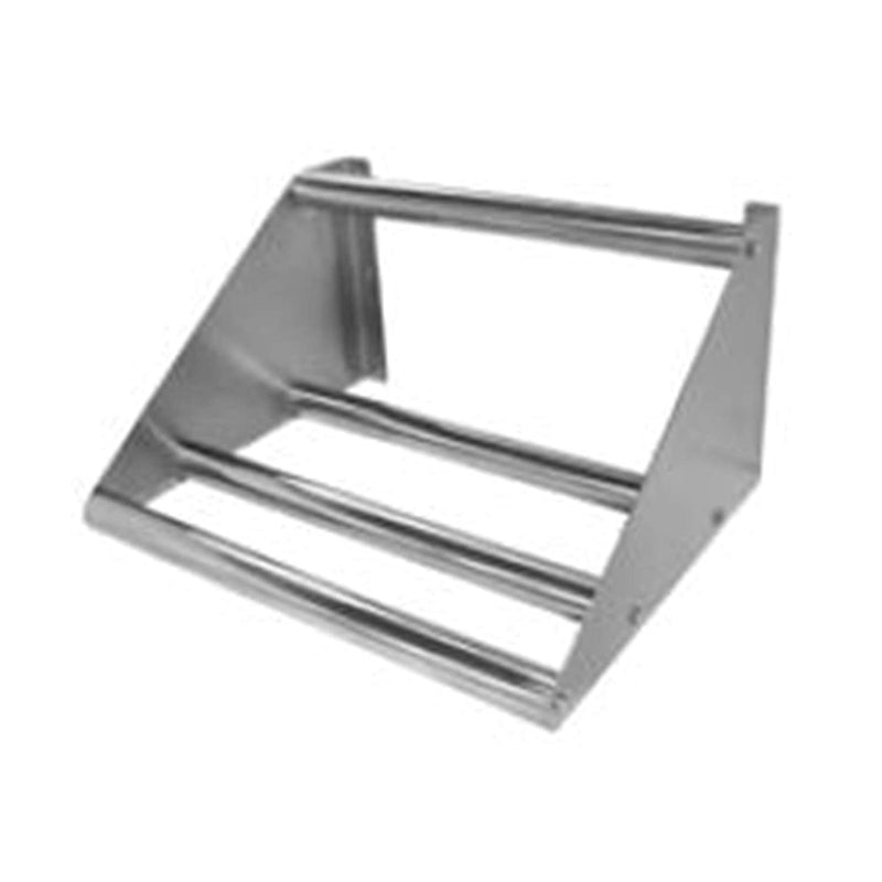 "GSW Stainless Steel Tubular Dish Table Sorting Shelf for Washing and Storage, 62""W x 18""D x 11-1/4""H (62""W)"
