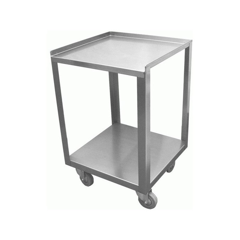 "GSW Stainless Steel Donut Cart (15""W x 15""L x 22""H)"