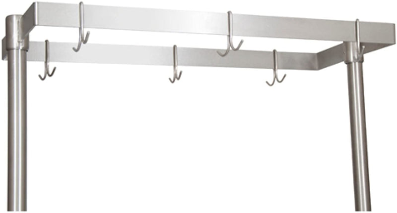 "BK Resources APQ-48 360 Table Mount Pot Rack 48""L(Left to Right) x 50""H"