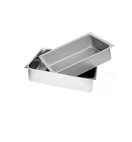"GSW DA-2020P Stainless Steel Pans for Table Drawers (20"" W x 20"" L x 5"" H)"