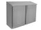 "GSW Stainless Steel Slope Top Wall Cabinet w/Double Hinged Doors 15"" x 72"" x 35"""
