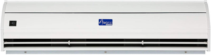 "Awoco 72"" Elegant 2 Speeds 1800 CFM Indoor Air Curtain with an Easy-Install Magnetic Door Switch, CE Certified"