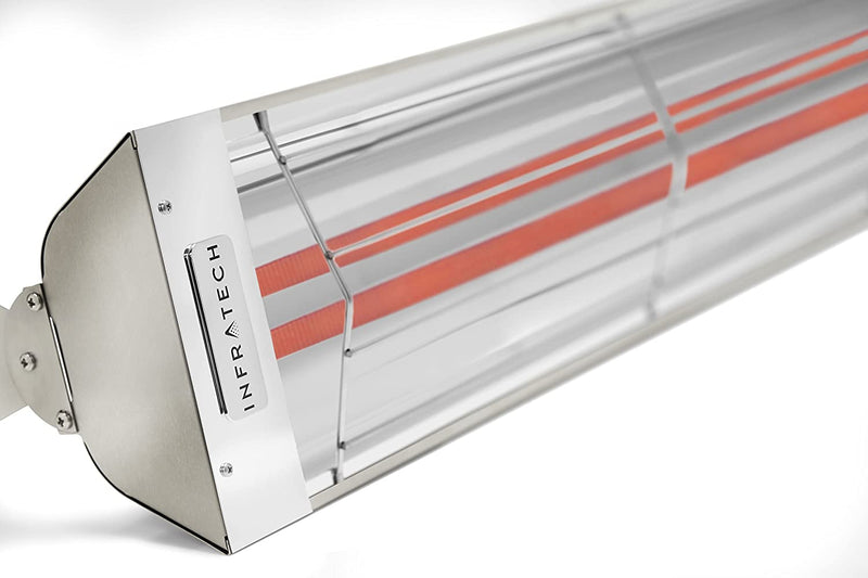 "Infratech WD Series Model WD4027SS 39"" Dual Element 4,000 Watt Stainless Steel Quartz Heater (277V)"