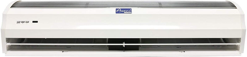 "Awoco 40"" Slimline 2 Speeds 1250 CFM Indoor Air Curtain w/Remote Control and Magnetic Switch, Powerful, Quiet, Small Body, Light Weight, CE Certified, 3 Year Warranty"