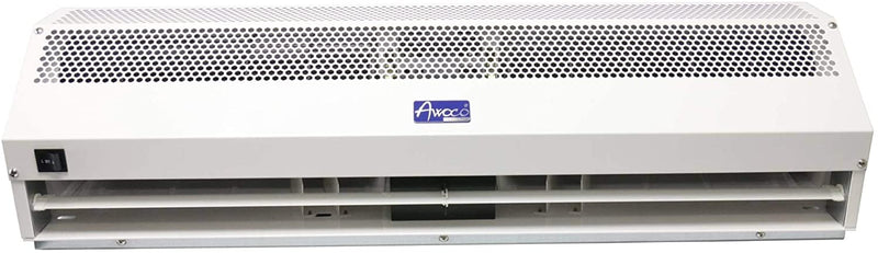 "(Refurbished) Awoco 72"" Super Power 2 Speeds 2350 CFM Commercial Indoor Air Curtain, CE Certified 120V Unheated, with an Easy-Install Magnetic Switch"