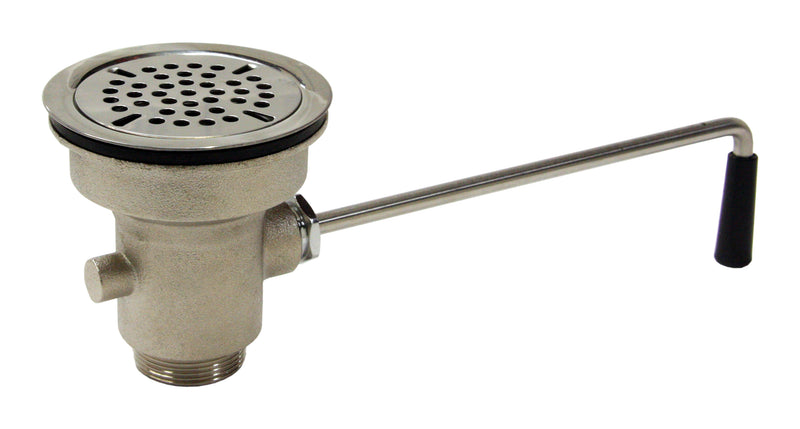 "Twist Handle Waste Valve 3-1/2"" Sink Opening, 1-1/2"" Drain Outlet. AA-301"