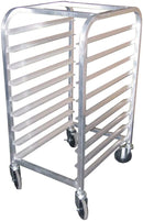 GSW Equipment All Welded Aluminum Half Size Pan Rack