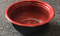 Leyso Set of 300 Black/Red PP Containers Bowls (30 Oz)