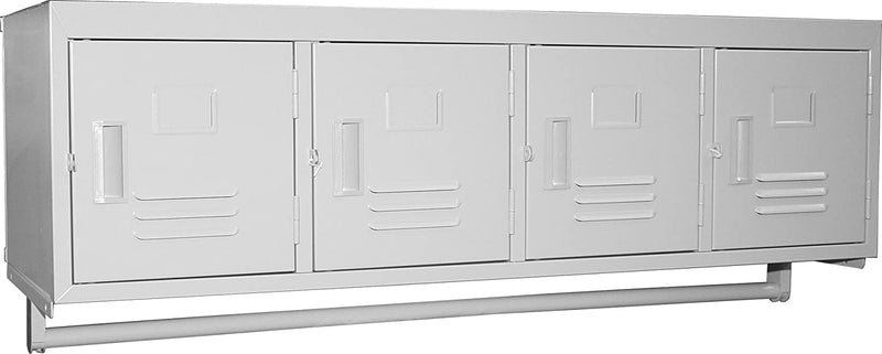 GSW Premium Steel Wall Mounted Lockers ELS-4DR