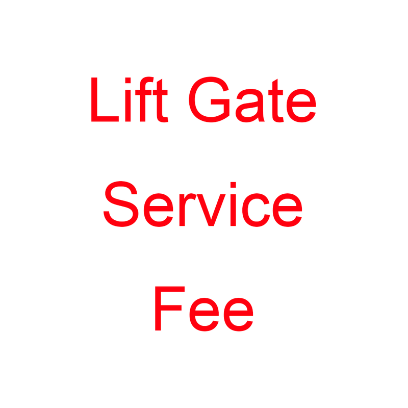 Lift Gate Service Fee