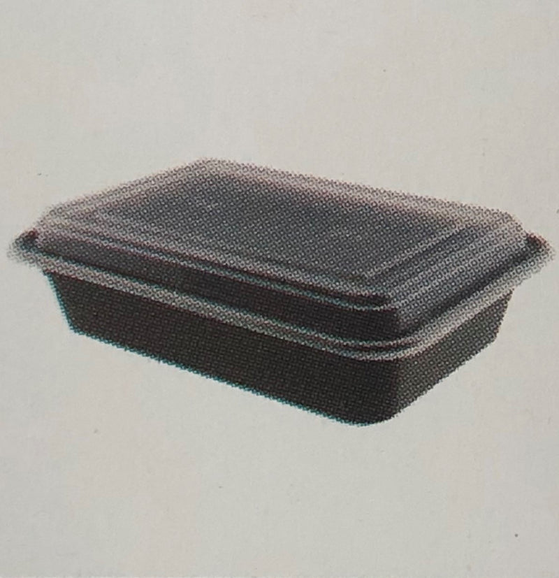 Leyso TO-NL Heavy Duty Microwavable PP Rectangular Containers (150 Count)