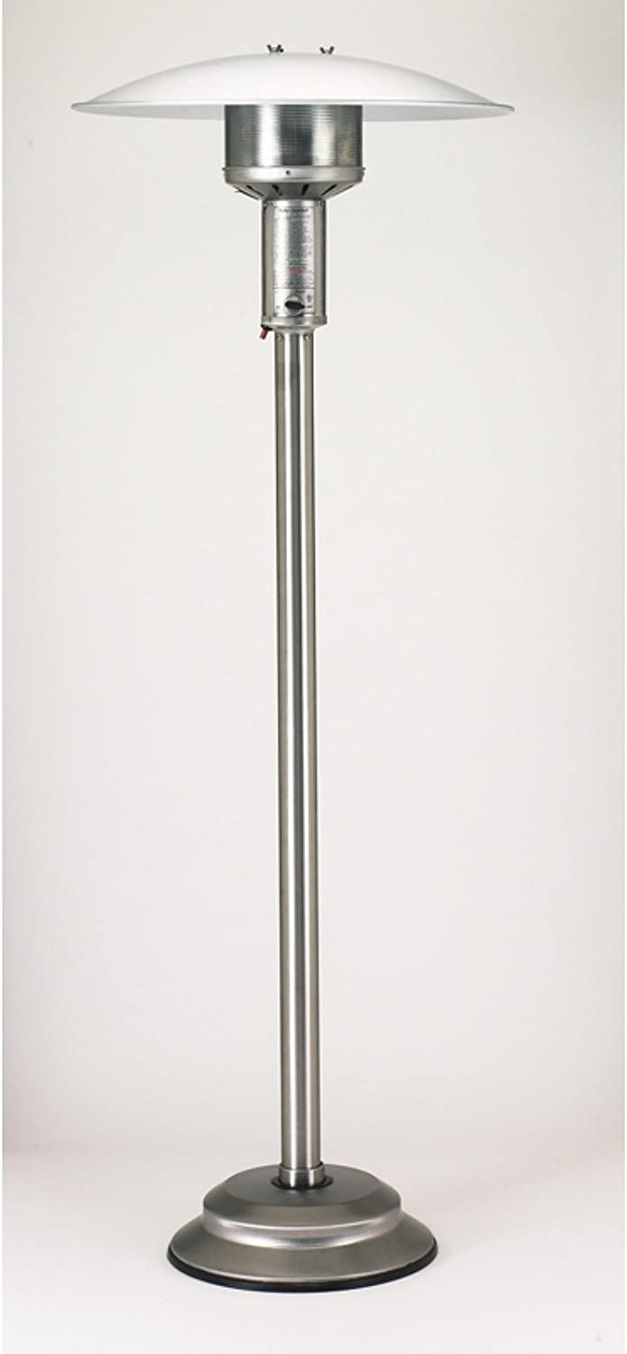 Patio Comfort NPC05 SS NG Portable Patio Heater, Stainless Steel Finish
