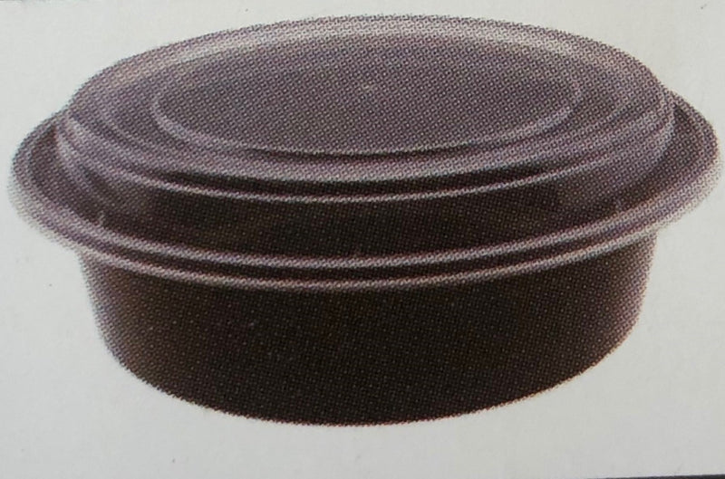 Leyso TO-NR Heavy Duty Microwavable PP Round Containers (150 Count)