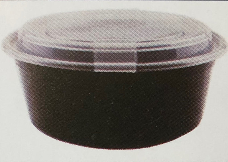 Leyso TO-NR Heavy Duty Vented Microwavable PP Round Containers (90 Count)