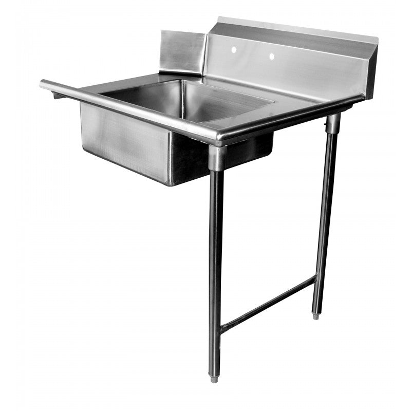 "GSW Stainless Steel Soiled Dish Table 48""L x 30""W Right Side NSF Approved"