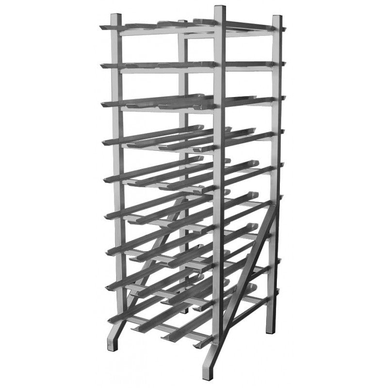 "GSW AAR-CRAW All Welded Aluminum Can Rack (25""W x 35""L x 71""H)"