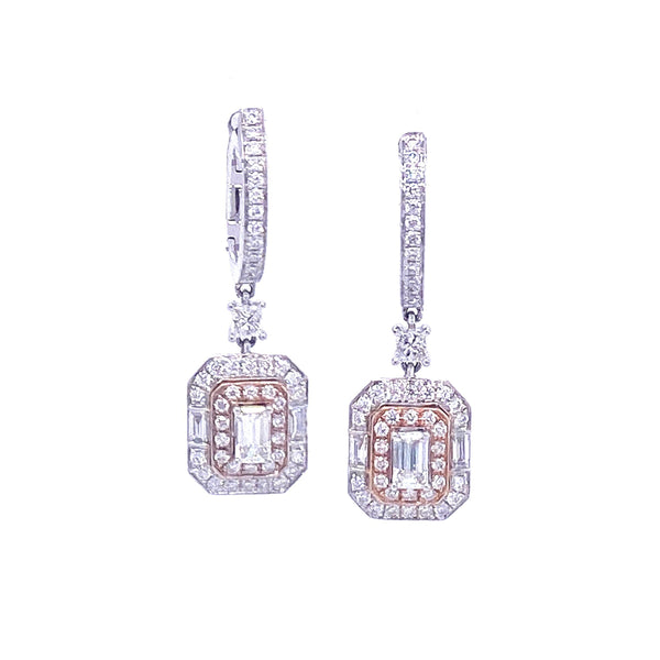 Fancy Karat Deux Earrings - Psylish