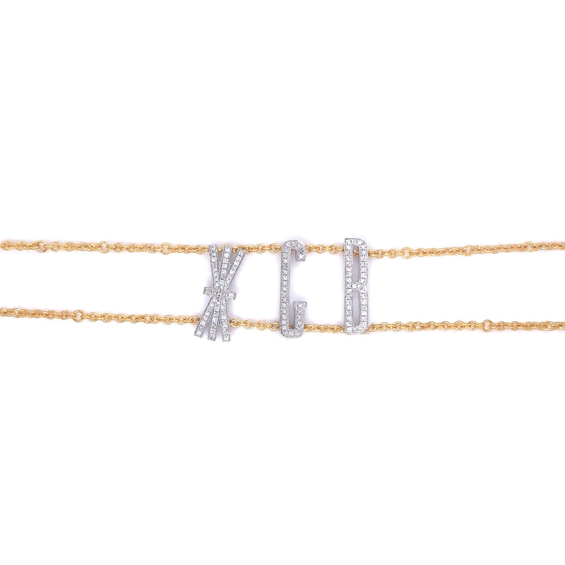 Oly & Pie Double Chain Choker - Psylish