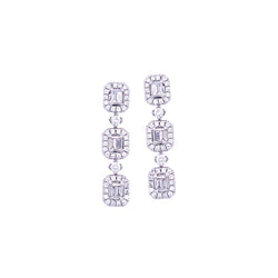 Rowen Blanc Petite Earrings - Psylish