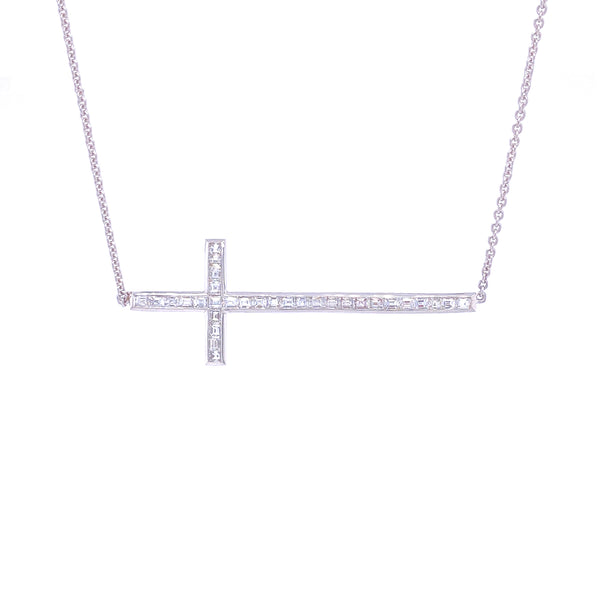 Serena Cross Necklace - Psylish