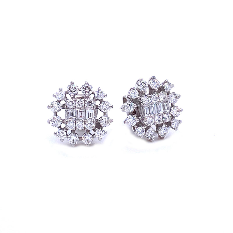Florin Stud Earrings - Psylish