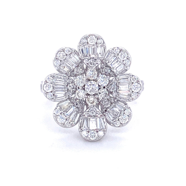 Evelyn Blanc Fleur (M) Ring - Psylish
