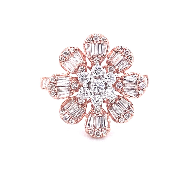 Evelyn Rosé Fleur (S) Ring - Psylish