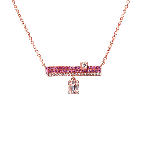 Evelyn Pink Necklace - Psylish