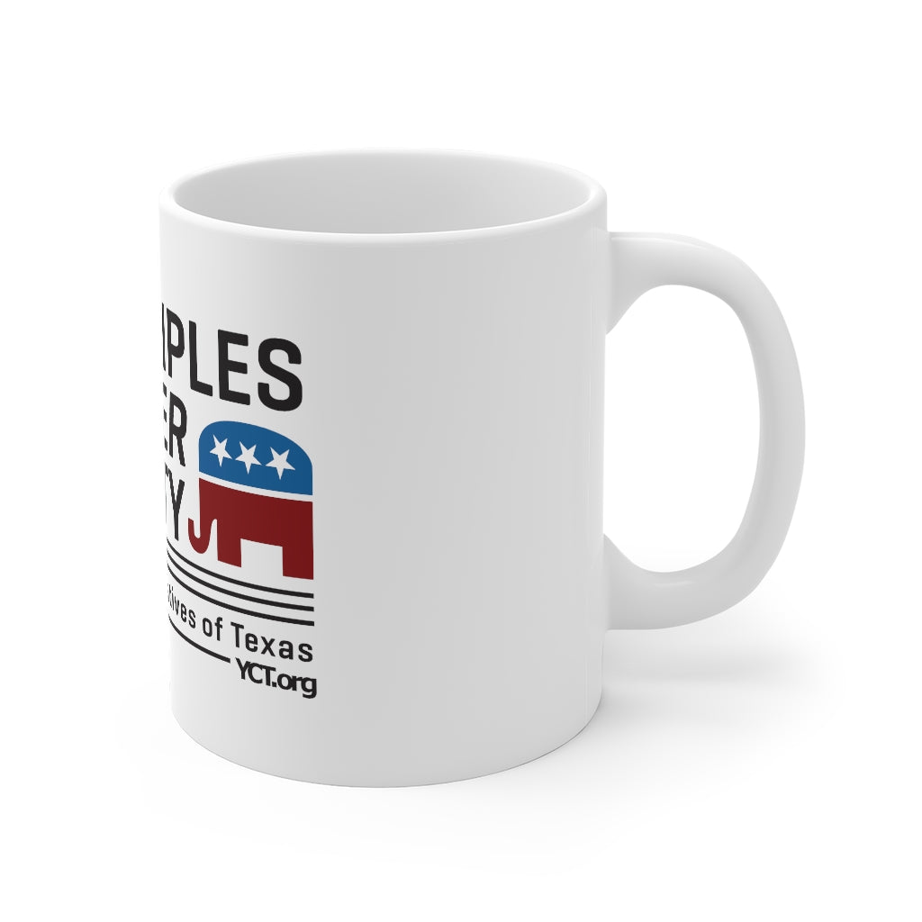 Principles Over Party Mug (YCT)