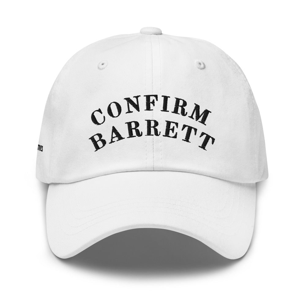 White Confirm Barrett Hat (YCT)