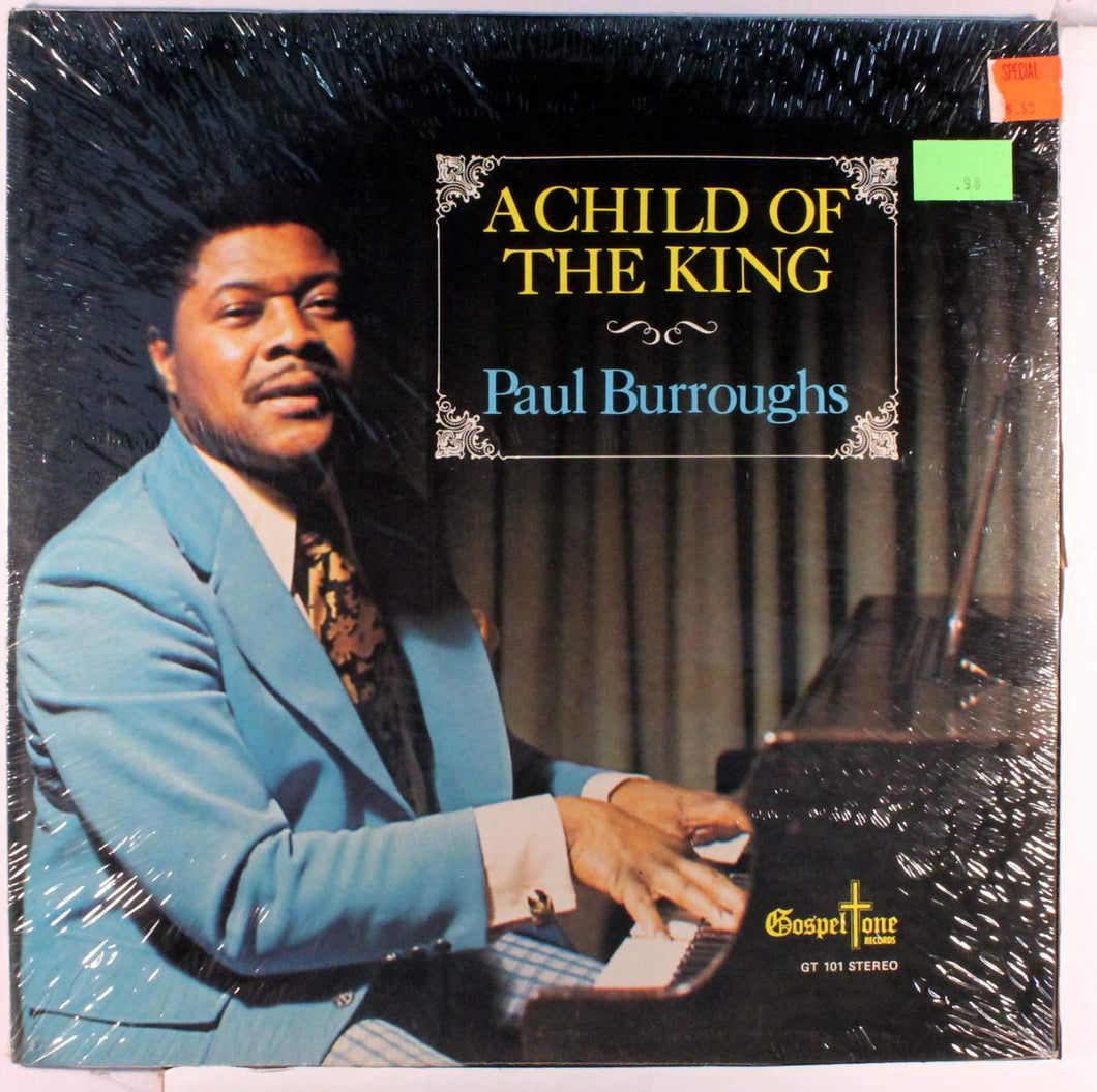 Paul Burroughs - A Child Of The King